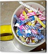 Contest  45 Candles Birthday 12 24 2010 Acrylic Print