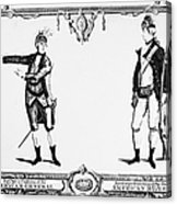 Continental Army Acrylic Print