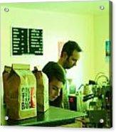 Contraband Coffee Acrylic Print
