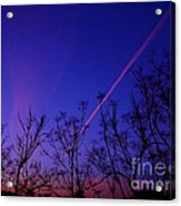 Contrail Contrast Acrylic Print