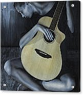 Conversation With A Painting Acrylic Print
