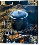 Cook Fire Acrylic Print