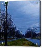 Cool Boulevard Acrylic Print