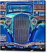 Cool Front End Hdr Acrylic Print