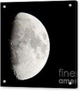 Copernicus In Oceanus Procellarum The Monarch Of The Moon Acrylic Print