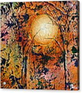 Copper Moon Acrylic Print