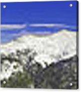 Copper Mountain Vista Acrylic Print