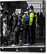 Coppers Acrylic Print by Paul Howarth
