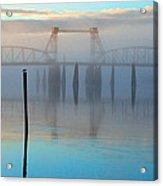 Coquille River Bridge Sunrise Acrylic Print