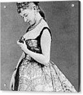 Cora Pearl (c1835-1886) Acrylic Print