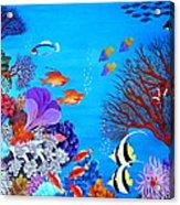 Coral Garden Acrylic Print