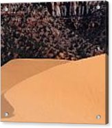 Coral Pink Sand Dunes Acrylic Print