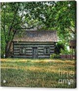 Corbett's Cabin Acrylic Print by Pamela Baker