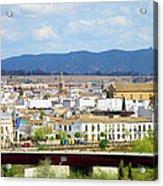 Cordoba Cityscape In Spain Acrylic Print