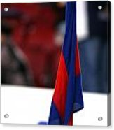 Corner Flag Of Camp Nou Acrylic Print