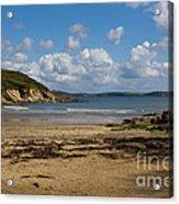 Cornish Seascape Maenporth Acrylic Print