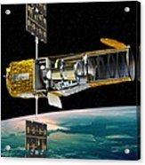 Corot Satellite, Artwork Acrylic Print