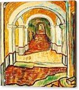 Corridor In The Asylum Acrylic Print