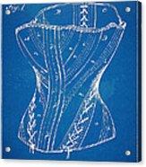 Corset Patent Series 1884 Acrylic Print