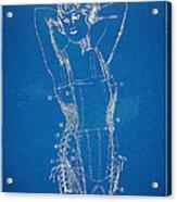 Corset Patent Series 1924 Figure 1 Acrylic Print