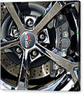 Corvette Chrome 60th Acrylic Print