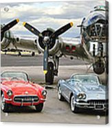 Corvette Club 01 Acrylic Print