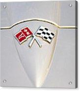 Corvette Emblem Acrylic Print