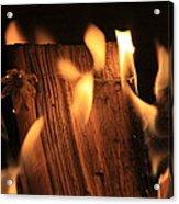 Cosmic Fire Acrylic Print