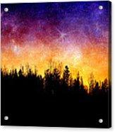 Cosmic Night Acrylic Print