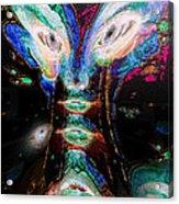 Cosmic Smurf Acrylic Print