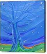 Cosmic Tree Acrylic Print