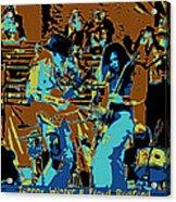 Cosmic Winter Blues 1975 Acrylic Print