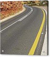 Costal Road Acrylic Print