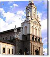 Cotacachi Cathedral Acrylic Print