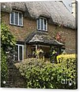 Cotswold Thatched Cottage Acrylic Print