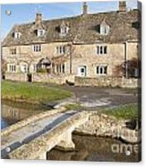 Cotswold Village Of Lower Slaughter Acrylic Print