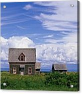 Cottage At Bay Of Chaleur Acrylic Print