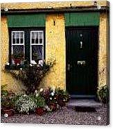 Cottage At Bushmills, Co Antrim, Ireland Acrylic Print