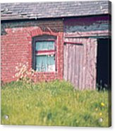 Cottage Barn England Home Counties Acrylic Print
