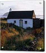 Cottage, Near Dunquin, Dingle Acrylic Print