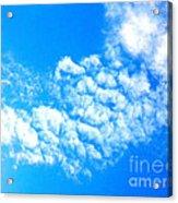 Cotton Candy Sky Acrylic Print