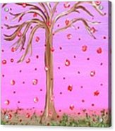 Cotton Candy Sky Wishing Tree Acrylic Print