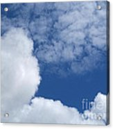 Cotton Clouds Acrylic Print