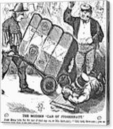 Cotton Loan Cartoon, 1865 Acrylic Print