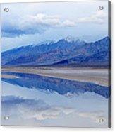 Cottonball Basin Death Valley Acrylic Print