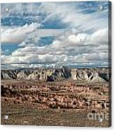 Cottonwood Canyon Badlands Acrylic Print