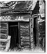 Cottonwood Jail Acrylic Print