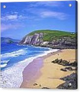 Coumeenoole Beach, Dingle Peninsula, Co Acrylic Print