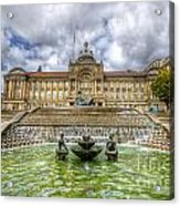 Council House And Victoria Square - Birmingham Acrylic Print
