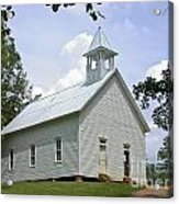 Country Church Acrylic Print